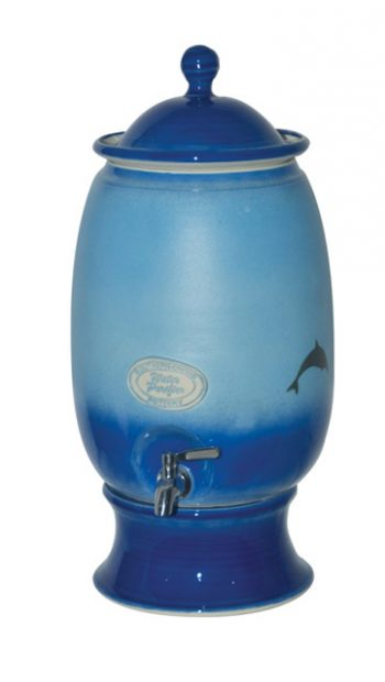 Hartgoods - Southern Cross Pottery (SCP), Dolphin, Large, Water Purifier and the SCP Fluoride Plus™ Water Filter Cartridge