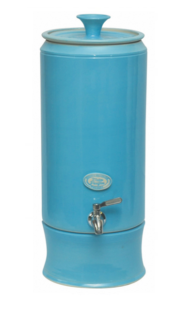 Hartgoods - Southern Cross Pottery (SCP), Turquoise, Ultra Slim, Water Purifier and the SCP Fluoride Plus™ Water Filter Cartridge