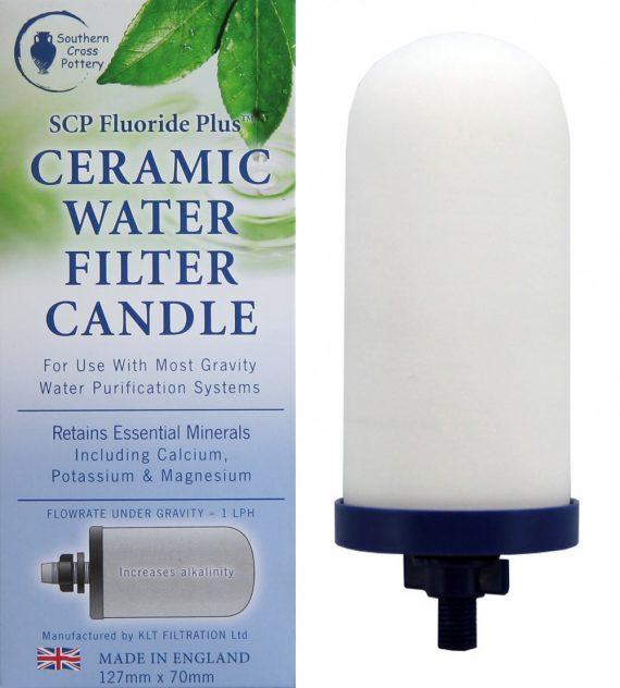 Hartgoods - Southern Cross Pottery – SCP Fluoride Plus™ Water Filter Cartridge