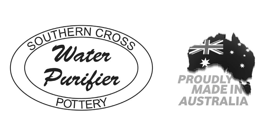 Southern Cross Pottery (SCP) – Water Purifier and the SCP Fluoride Plus™ Water Filter Cartridge - on Hartgoods